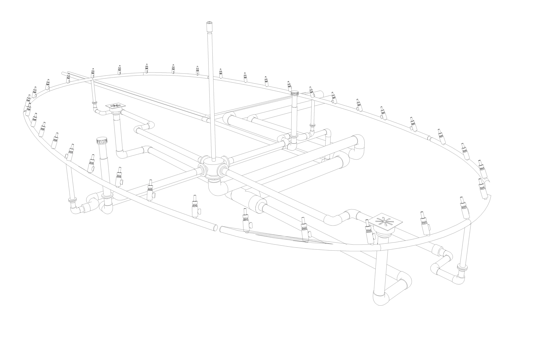 Технологическая часть фонтанов дворцово-паркового комплекса Коссово