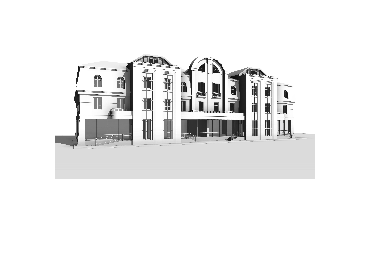 Комплекс зданий в исторической части центра г. Бреста