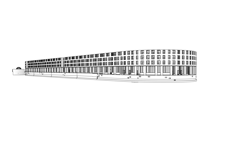 Разработка раздела АР многоэтажного жилого комплекса