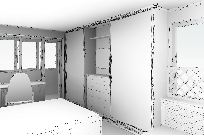Меблировка однокомнатной квартиры